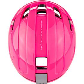 POC POCito Omne Spin Casco Bambino, fluorescent pink